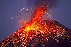 Ngủ mơ thấy núi lửa