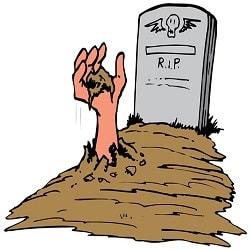 Ngủ mơ thấy ngôi mộ